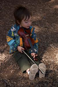 His first concert