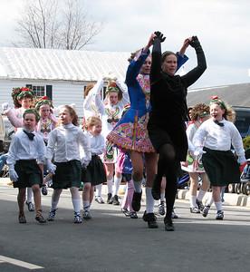 Irish dance St. Patrick Parade
